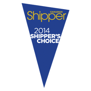 Shippers Choice Award 2014