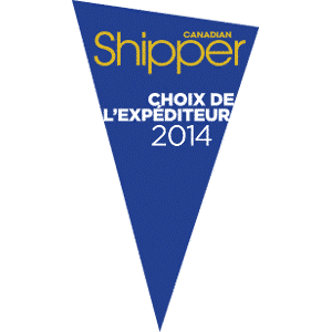 Shippers Choice Award 2014